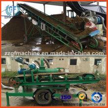 Máquina de desidratação de fertilizantes de estrume de porco
