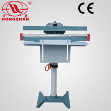 Automatic Pedal Sealing Machine Foot Sealer with Electric Magnetic and pneumatic Cylinder, Code Printer