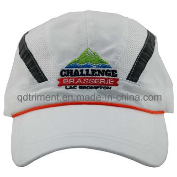 Светоотражающая полоска для спортивной гоночной кепки с вышивкой из микрофибры Peach-Skin (DOCR0126)