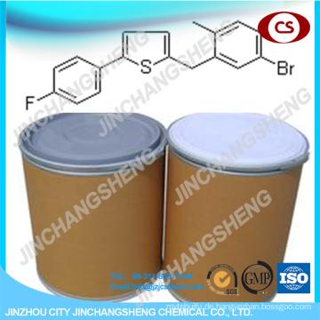 2- [(5-Brom-2-methylphenyl) methyl] -5- (4-fluorphenyl) thiophen 99%