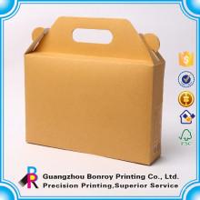 Caja de regalo de lujo del envío de la botella de vino de papel de la venta caliente para la botella 2 con la cinta