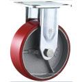 Heavy Duty Polyurethane Swivel Caster Iron Core Cast PU Caster