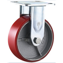 Heavy Duty Polyurethane Swivel Caster Iron Core Cast PU Caster