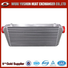 manufacturer of aluminum bar and plate water to air intercooler