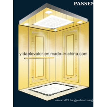 Passenger Elevator with Mirror Etched Stainless Steel (JQ-N027)