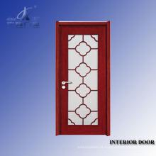 Projetos de porta frontal de madeira maciça