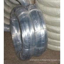 Alambre galvanizado del hierro de la alta calidad de la fuente de la fabricación