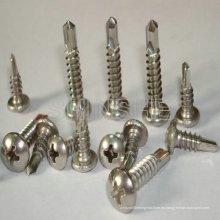 Tornillos autoperforantes de acero de calidad superior