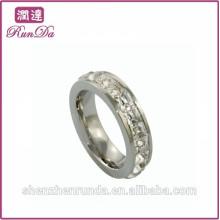 Venda quente 2014 rodada anéis de diamante para as mulheres