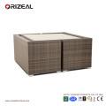 Открытый ротанга куб 4-местный диван набор OZ-OR062