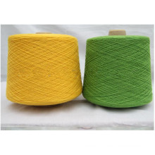 Ne 28/1 50%/50% Carded Cotton/Viscose Blended Yarn