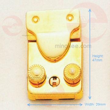 Подвижный / гибкий золотой замок для сумки или коробки (R10-181AS)