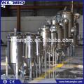 Certificação ISO e CE 304 ou 316L fermentador de cerveja cônica de aço inoxidável