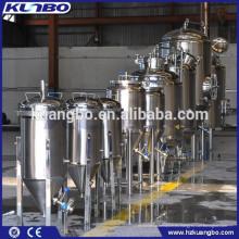 La certificación ISO y CE aprobó el fermentador de cerveza cónico de acero inoxidable 304 o 316L