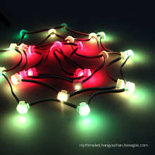 APA102C waterproof addressable decorative outfit led pxiel digital led module string lights 5v led string