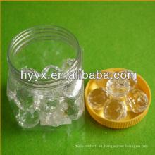 Cuentas sueltas de cristal de acrílico / piedras preciosas sueltas