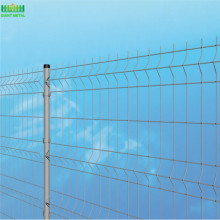 Garden Decoration Fence Bending Welded Wire Mesh Fence