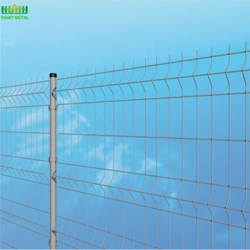 PVC+Coated+Wire+Mesh+Fence+White+Mesh+Fence