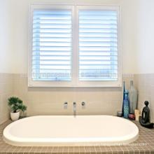wholesale quality pure white pvc shutter