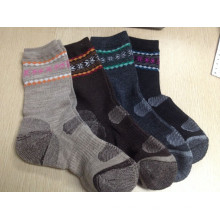 Chaussettes en laine mérinos pour femmes Chaussettes extérieures