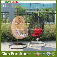 Leisure Rattan Furniture Synthetic Outdoor Garden Wicker Swing Chair