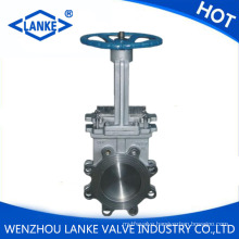 Stainless Steel Knife Gate Valve with ANSI / DIN