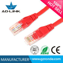 2016 high quality best price pass fluke utp cat6 patch cable