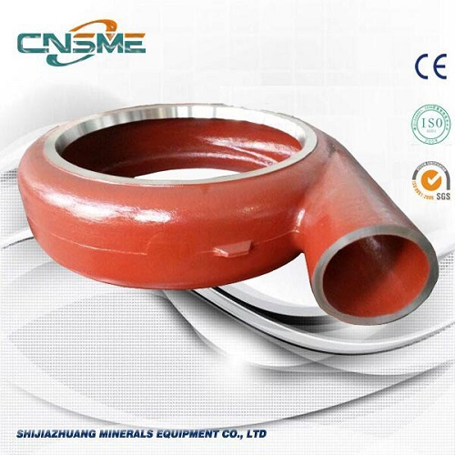 Metallfodrad Slurry Pump Volute Liner