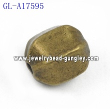 Oval shape Zinc Alloy beads