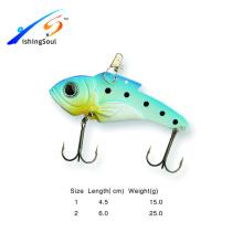 VBL013 Divers Taille pêche artificielle bass vib cuillère en métal leurre de pêche
