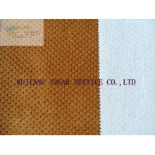 Polyester Knitted verklebt mit Poly Baumwolle Blende Stoff gewebt
