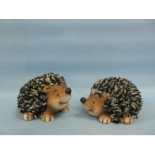 Hedgehog forma de artesanía de cerámica (LOE2532-C10)