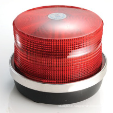 LED Oblate Light Warning Police School Medical Beacon (HL-215 RED)