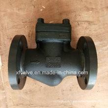 DIN-Standard geschmiedeter Stahlflansch-Anschluss-Endkolben-Rückschlagventil