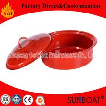 Sunboat 3qt запаса горшок эмаль эмалированная посуда/ Кухонные принадлежности/посуда