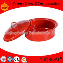 Sunboat 3qt Enamel Stock Pot utensilios de cocina de esmalte / utensilios de cocina / utensilios de cocina