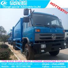 Nouveau 16m 3 18m 3 Compression transport camion à ordures a bas prix