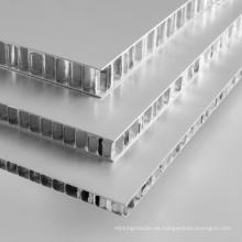 Paneles de nido de abeja de aluminio para salas blancas