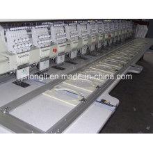 15 cabezas 9 máquina de bordado plana de aguja