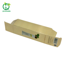 Hot!!! Custom print cosmetic packaging white cardboard gift paper box