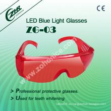 Los dientes que blanquean las gafas protectoras del uso (ZG-03)