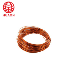 Alambre de cobre desnudo flexible esmaltado para motor