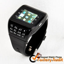 Q5 Multi Colors Quad Band Gsm Wrist Watch Phone With Black / White Color, 1.33 Inch Screen