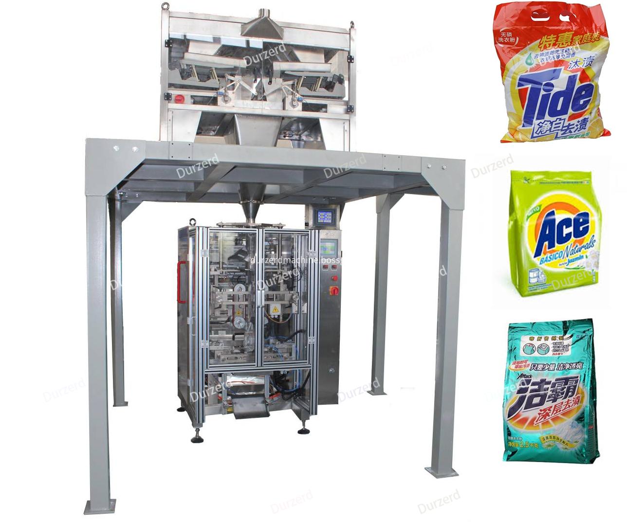detergent powder packaging