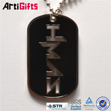 Promotion metal photo frame dog tag