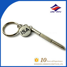 High quality simple key chain classical metal keychain from China