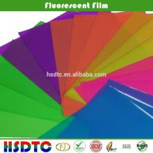 PET Transparet Fluorescent Film