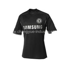 diseñado camisetas de fútbol material bien seco para hombres estilo popular