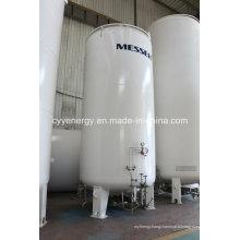 Nouveau réservoir de stockage de dioxyde de carbone d'argon d'oxygène liquide à basse pression utilisé par l'industrie avec différentes capacités