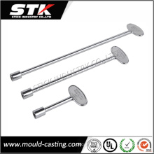 Hot Sale Zinc Alloy Door Key for Lock Parts (STK-ZDL0004)